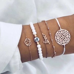 5PC BOHO Bracelet set love ❤️